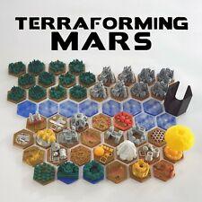 Terraforming Mars tiles base pack – 56 pezzi – meeple - token 3d