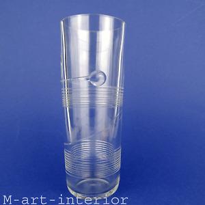 Vtg. Kosta Boda Glas Vase mit Spirale Glass Signed Bertil Vallien Sweden # 48411
