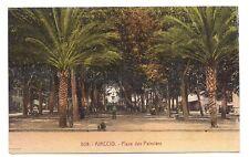 ajaccio , place des palmiers