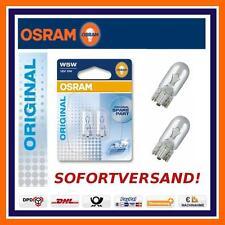2X OSRAM Original Line W5W Standlicht Standlichtbirnen Audi A3 A4 A6 Q5 Q7 TT