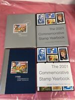 USPS 1999 & 2001 COMMEMORATIVE STAMP YEARBOOK no stamps