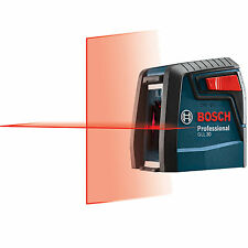 30' Self-Leveling Cross-Line Laser Bosch Tools GLL30-RT