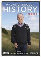 Walking Through History: Series 2 DVD (2014) Tony Robinson cert E 2 discs
