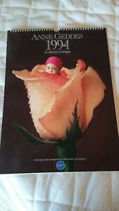 """Anne Geddes 1994 Large 19"""" x 13.5"""" Calendar-A Collection of Images"""