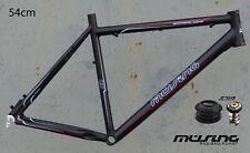 "Müsing Offroad Comp Mountainbike Rahmen 54cm Alu schwarz 26"" Disc mit Steuersatz"