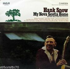HANK SNOW My Nova Scotia Home & Other Early Hank Snow Favourites LP