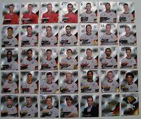 Rewe DFB EM 2020 Komplett Set Glitzer alle 35 verschiedenen Sammelkarten Karten