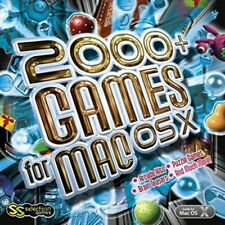 2000+ Games for Mac OS X Macintosh OSX Sealed New