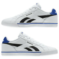 Mens Reebok Royal Complete 2 LL AR2428 White, Black & Blue RRP £59.99