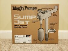 Liberty Pumps SJ10 Sump Jet Water Powered Back-Up Pump with SHARKBITE® - NEW