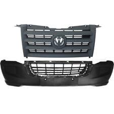 Set Stoßstange vorne schwarz + Grill VW Crafter Bj. 06->>  kein PDC