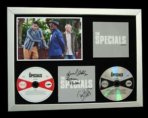 THE SPECIALS+SIGNED+QUALITY FRAMED+ENCORE+GHOST=100% GENUINE+EXPRESS GLOBAL SHIP