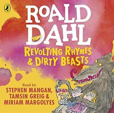 Revolting Rhymes and Dirty Beasts New Audio CD Book Roald Dahl