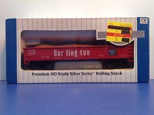 "HO Scale ""Burlington Route"" E3141 Open Gondola Freight Train W/ Load / Upgraded"