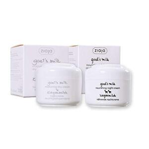 Ziaja Goat's Milk Nourishing Day & Night Face Cream Dry Wrinkle Prone Skin 50ml