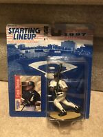 FRANK THOMAS Starting Lineup MLB SLU 1997 Action Figure & Card CHICAGO WHITE SOX