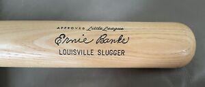 FLAWLESS ERNIE BANKS125J  Louisville Slugger Model 125 Powerized CHICAGO MR. CUB