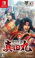 Nintendo Switch Samurai Warriors Spirit of Sanada Sengoku Musou Sanada Maru