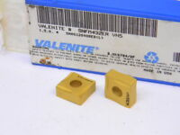 NEW SURPLUS 10PCS. VALENITE  SNFM  432ER  GRADE: VN5  CARBIDE INSERTS