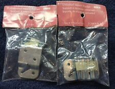 curtain rod universal mount brackets w/screws, two packages of 2, free shipping