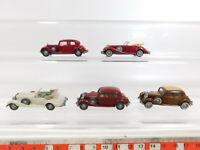 CK892-0,5# 5x Wiking H0/1:87 Oldtimer Mercedes: 260 D Limousine + 540 K Cabrio