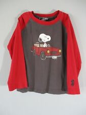 H&M Boy's Size 2-3 Years Long Sleeve Snoopy T-Shirt