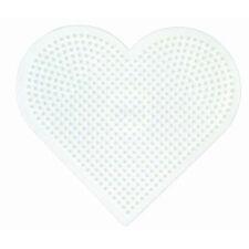 Hama beads único Perforado 233 gran corazón