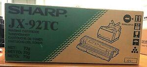 SharpJX-92TC black laser toner cartridgeJx92TcJX9200JX9210JX9230New Original