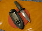 VINTAGE PARKER FROST 80 s Japan Tooth Pick Fixed Blde Boot Knife w Sheath