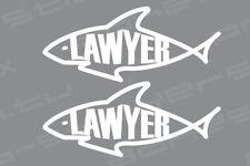 Shark Lawyer Vinyl Decal Sticker