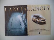 advertising Pubblicità 2002 LANCIA PHEDRA
