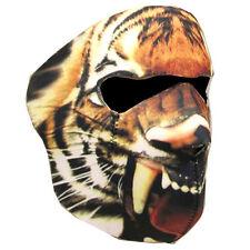 Motorcycle Bike Snowboard Ski Snow Snowmobile Face Mask Balacla Black Tiger