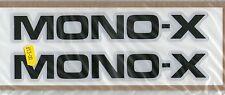 MONO X Swingarm Decals YZ 125 250 490 1982 J models (Larger)