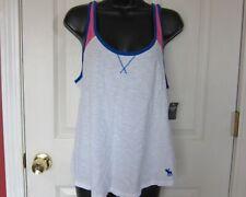 Abercrombie & Fitch White Sleeveless Shirt For Women  Sz L - NWT $24