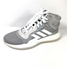 Adidas Marquee Boost Men's Baseball Shoes White and Gray Size 8 New