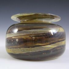 Isle of Wight Studio Tortoiseshell Glass Vase by Michael Harris
