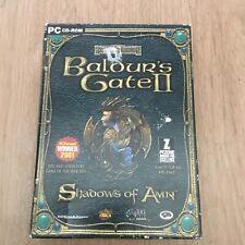 Baldur'S GATE II Shadows of Amn PC Balder's 2 PC Caja Grande Raro