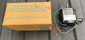 Bodine Electric KCI-23A2 Gearmotor 115 Volts 67 RPM New Old Stock