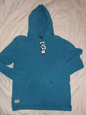 Lrg lifted research group Hooded Long Sleeve Shirt XL New With Tags Blue