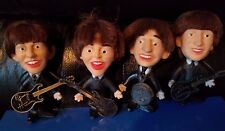 THE BEATLES REMCO DOLLS SET OF FOUR WITH INSTRUMENTS - SUPER CONDITION