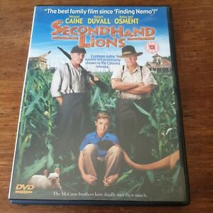 Secondhand Lions Michael Caine DVD (Region 2 Europe) LIKE NEW