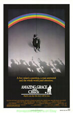 AMAZING GRACE AND CHUCK MOVIE POSTER Original SS27x41 Baseball Film GREGORY PECK