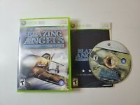 Blazing Angels: Squadrons of WWII (Microsoft Xbox 360) Complete Free Fast Shippi