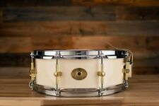 Noble & Cooley 13 x 5 SS Classic maple Snare Drum, Ivoire Laque