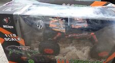 WL TOYS NEXGADGET RC Off Road Truck Car Rock Crawler 1/18 4WD-ORANGE