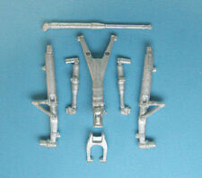 SAC 1/48 White Metal LANDING GEAR for KINETIC KFIR C2/C7
