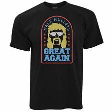Mens Funny T Shirt Make Mullets Great Again Redneck American Joke Tee