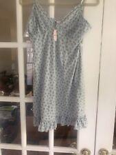 NWT Victoria Secret Silk/Cotton Blend Slip Nightgown Lingerie M/L