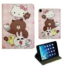 For Apple iPad Air 1/2 Pro 9.7 iPad 9.7 Hello Kitty Smart Cartoon Case Cover