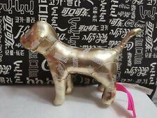 Rare new china VICTORIAS SECRET golden PINK DOG